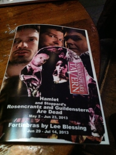 Copy of the playbill