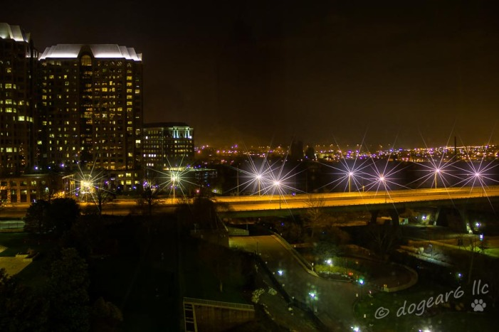 9th Street over the James River in Richmond, Virginia