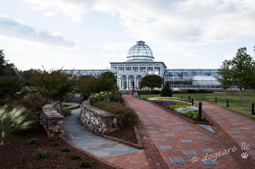 Greenhouse; October 2014 at Lewis Ginter Botanical Gardens, Richmond, Virginia