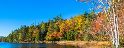 Eagle Lake at Acadia National Park in Maine