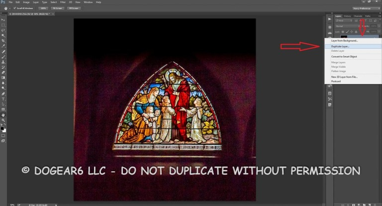 Create a duplicate layer before doing anything.  This way if something goes wrong, you can delete the layer and start again.