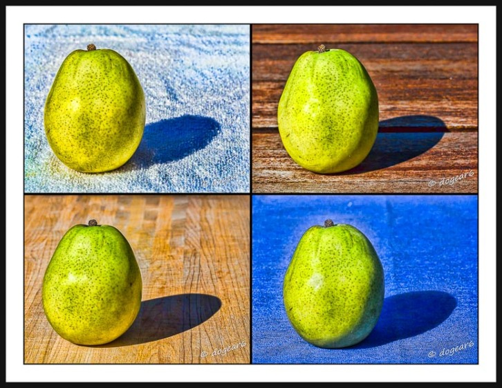 Pears Stylized With Topaz Effects