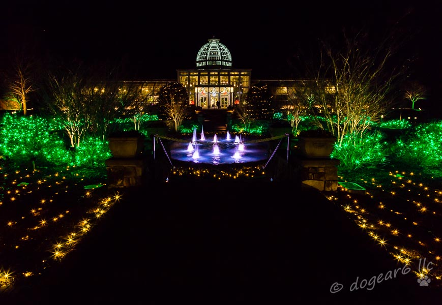 Greenhouse at the Lewis Ginter Botanical Gardens in Richmond, Virginia