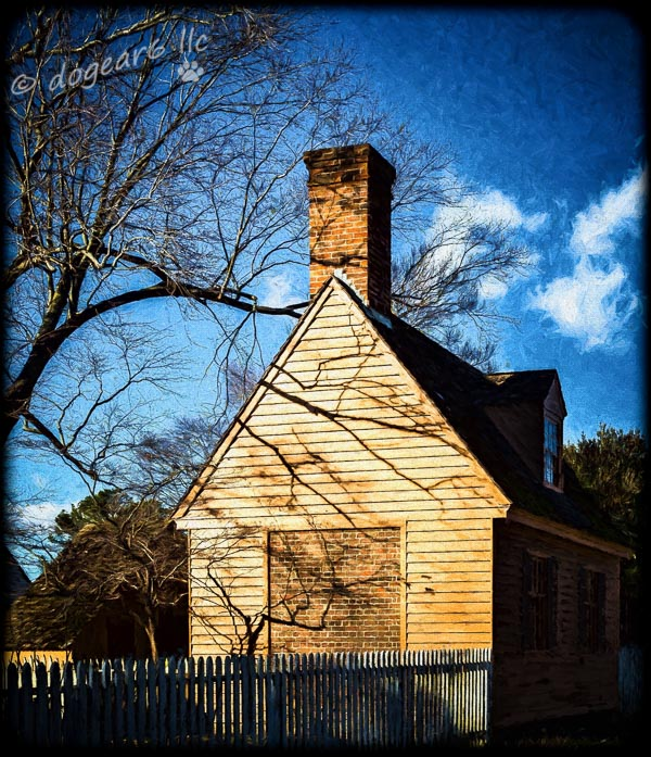 House Taken at Colonial Williamsburg in Virginia