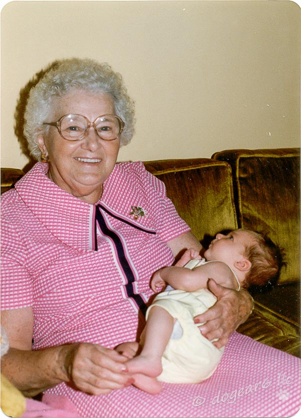 Great-Grandmother with Great-Granddaughter
