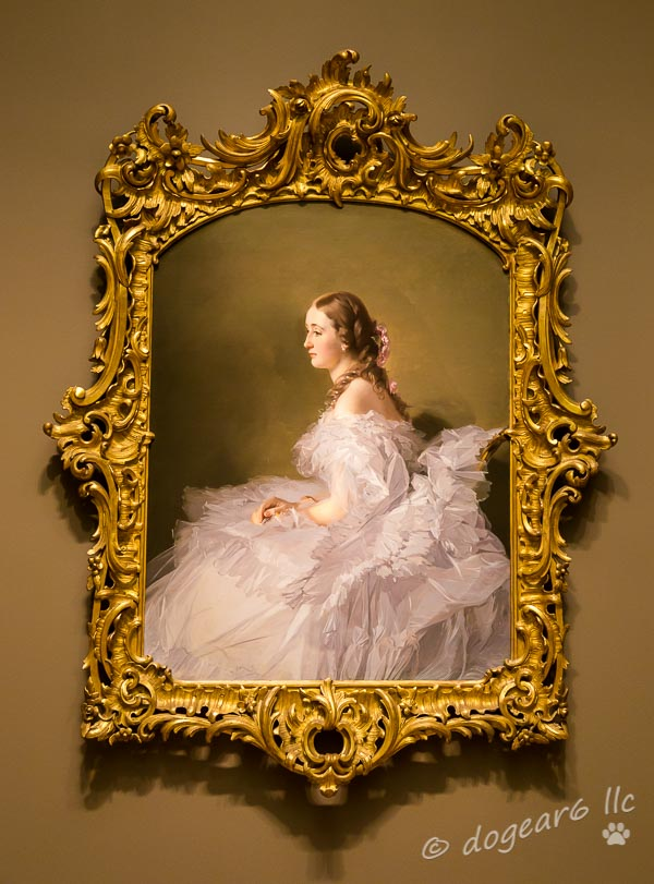 Lydia Schabelsky, Baroness Staël-Holstein at the Virginia Museum of Fine Art, Richmond, Virginia